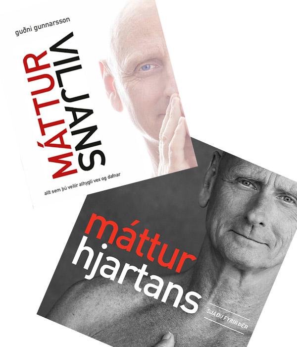 Máttur viljans og Máttur hjartans í einum bókapakka. rys.is